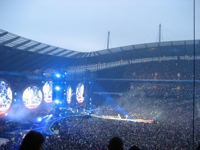 Coldplay in Manchester