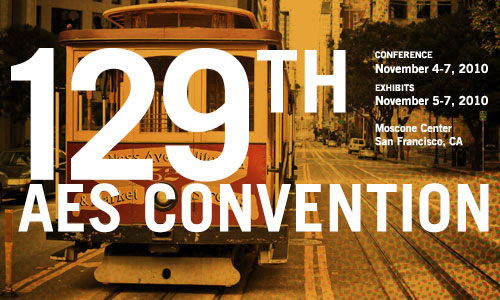 129th AES Convention