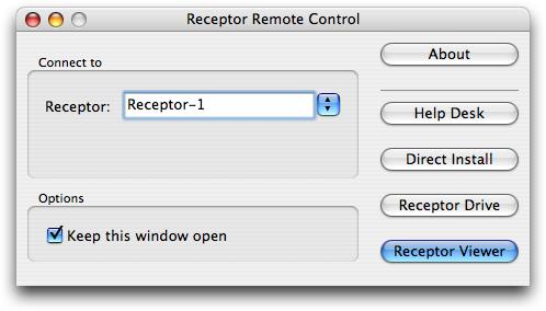 Receptor Remote Control