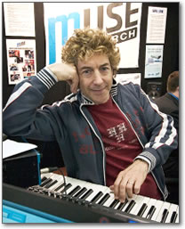 Producer, Engineer and Drummer Simon Phillips