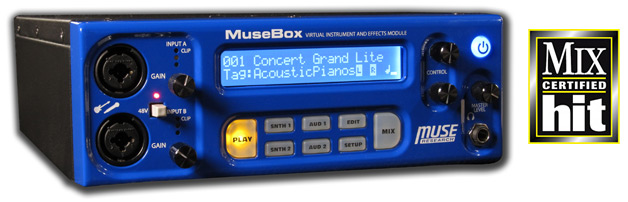 MuseBox - effects processor, sound module, synthesizer and more